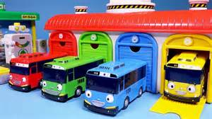 tayo the garage and gas station toys