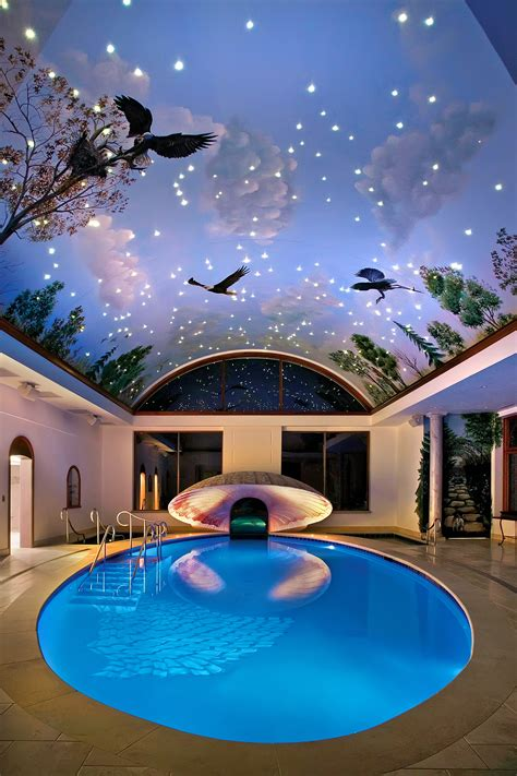 cool houses with pools indoor swimming pool ideas for your home