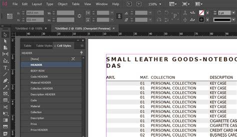 indesign tutorial invoice indesign price list template 28 images digital