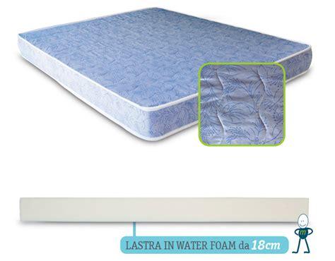 materasso water foam materasso waterfoam prezzi e caratteristiche da valutare