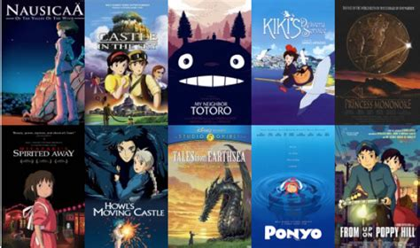 studio ghibli movies best movies tv shows to watch while high