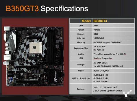 Biostar B350 Gt5 Am4 biostar pokazuje p蛯yty g蛯 243 wne am4 z chipsetami x370 i b350