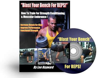 bench for reps blast your bench chest workout weight lifting program