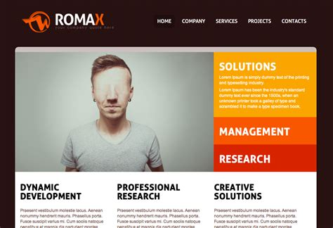Free Dreamweaver Business Website Templates Dreamweaver Website Templates