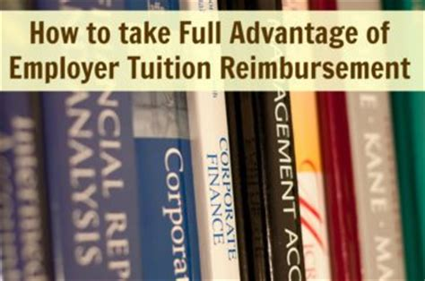 Boutique Consulting Tuition Reimbursement Mba by How To Take Advantage Of Employer Tuition
