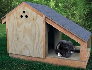 how to build a basic dog house building a doghouse step by step