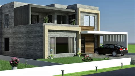 3d front elevation 1 kkanal design convert to
