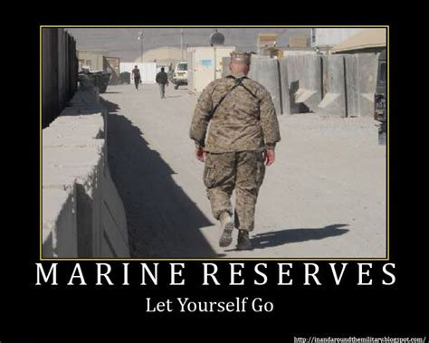 Army Reserve Meme - why are marines seen as more badass than the army when