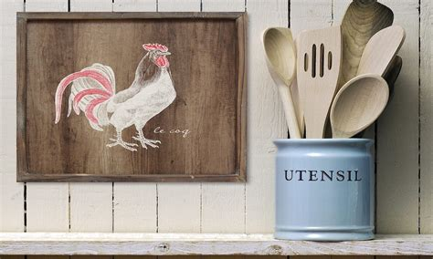 rooster home decor tips on buying rooster kitchen decor overstock com
