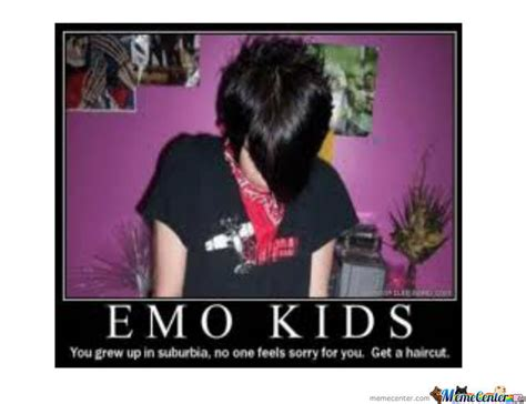 Emo Memes - emo kids please have a haircut by ngebuka meme center