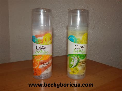 Olay Fresh Effect olay fresh effects product reviews becky boricua