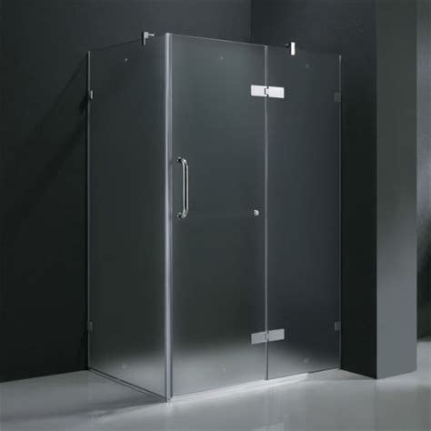 Frosted Glass Shower Doors by Frameless Glass Vigo Frameless Frosted Glass Shower
