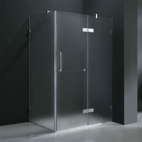 Frameless Frosted Glass Shower Doors Frameless Glass Vigo Frameless Frosted Glass Shower Enclosure 36 X 48 Special Deal