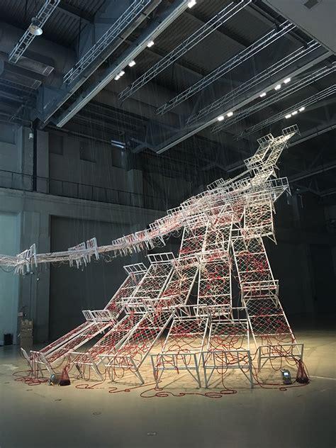 designboom installation weaving new worlds designboom speaks to chiharu shiota
