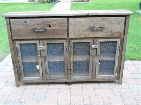 Thin Buffet Table custom thin barnwood buffet cabinet by treehousewoodworks