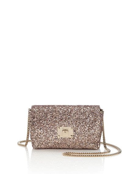 Glittered Shoulder Bag jimmy choo ruby glittered shoulder bag