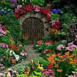 The Secret Garden Flowers Beautiful Gardens Garden Gates And Arbors