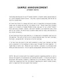 Sle Organizational Change Announcement by Crisis Management Manual