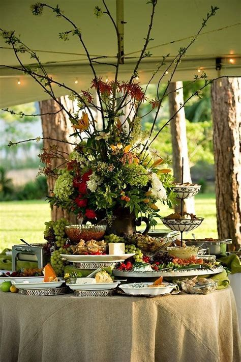 buffet table setting arrangement vertical images of outdoor table setting buffet table