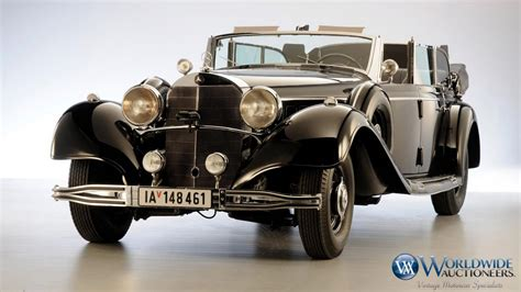 Hitler Auto by Adolf Hitler Used To Own This Armored 1939 Mercedes Benz