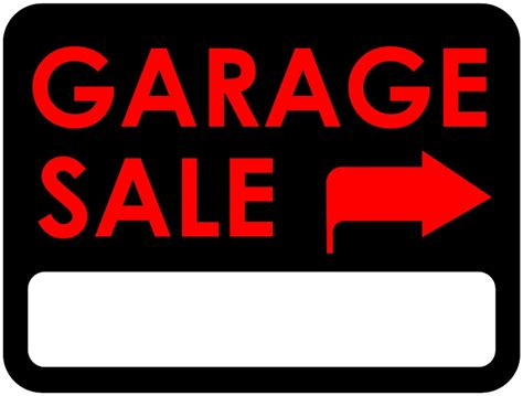 Where To Get Garage Sale Signs by Garage Sale Picture Cliparts Co