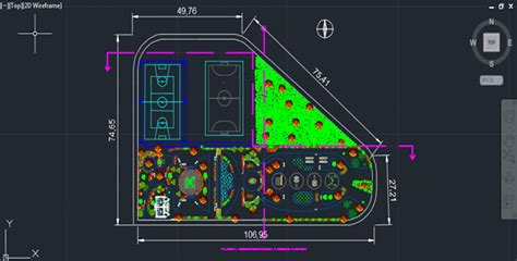 food court design dwg park with sports fields autocad drawing 187 cadsle com