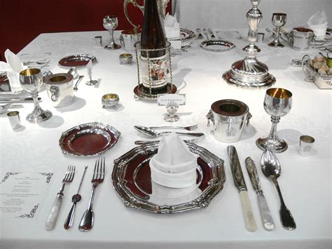 table setting of civility dinner etiquette formal dining gentleman s gazette