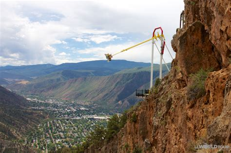 giant canyon swing glenwood springs colorado perfect family destination