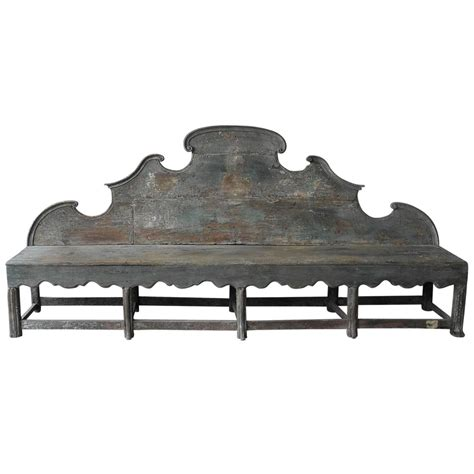 antique wood benches antique 18th century long carved italian wooden bench with
