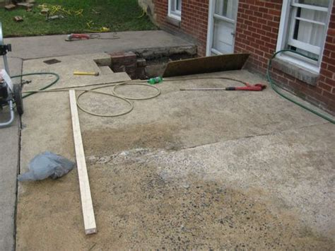 Can I Paint Concrete Patio by A New Look Patio Redesign Sarabozich Sarabozich
