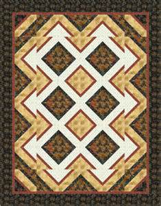 pattern shattered quilt size 72 x 92 block size 10