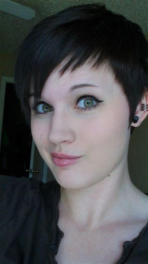 short hairstyles edgy bangs edgy pixie cut very cute pixie cut pinterest nice