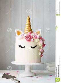 torta del unicornio foto de archivo imagen 88514386