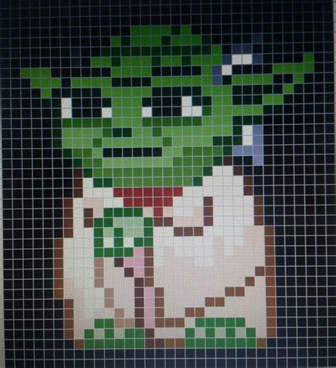 Pixel Quilt Pattern by 1000 Images About Wars On Perler Bead