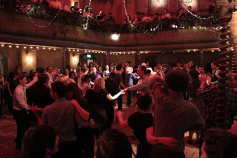 swing dance party candlelight cocktails in the quot world s oldest music hall quot
