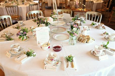 afternoon tea wedding reception ideas the tea company specialising in vintage tea