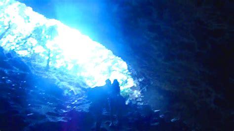 The Blue Room Kauai by The Strange Beautiful Blue Room Cave Kauai Hawaii