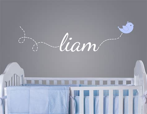 name wall decals for nursery giveaway wall decal from surface inspired project nursery