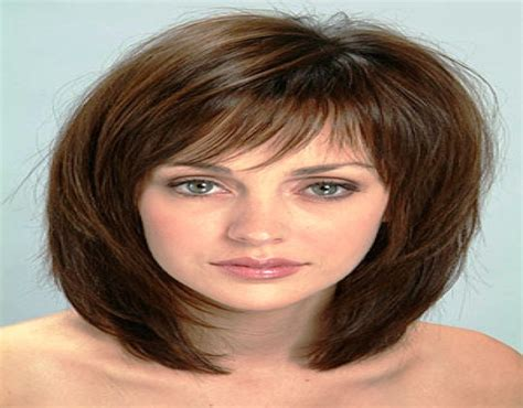 medium length hairstyles for thick hair and round faces medium short hairstyles thick hair hairstyle for women man
