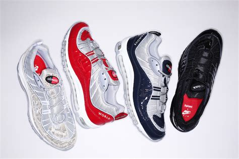 supreme clothing shoes supreme x nike air max 98 the drop date
