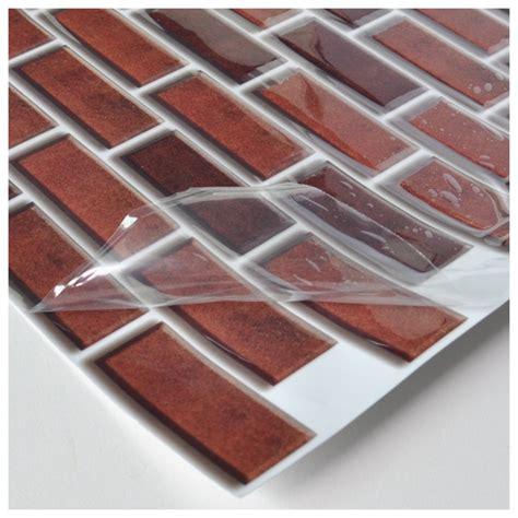 6 pack peel and stick brick backsplash tiles kitchen smart