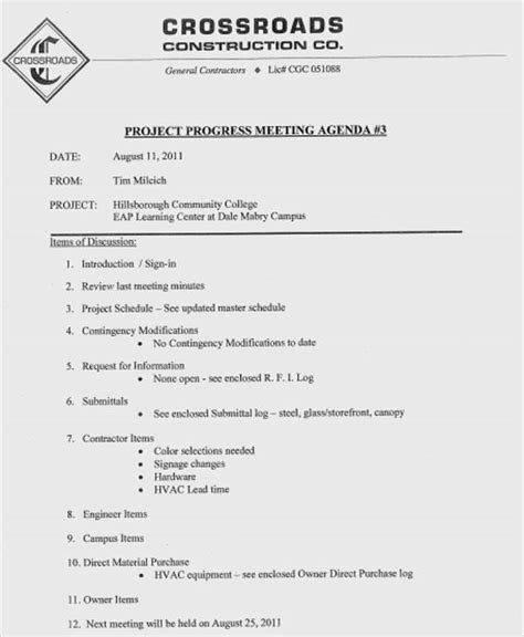planning meeting agenda template free premium templates