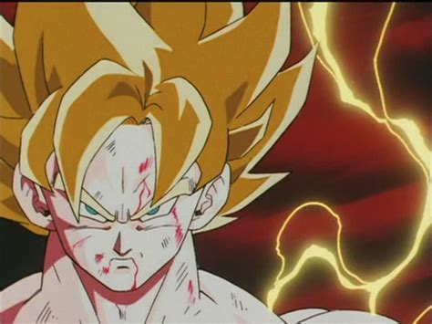 imagenes de goku transformandose en ssj momento super saiyajin quando um anime mang 225 vai longe