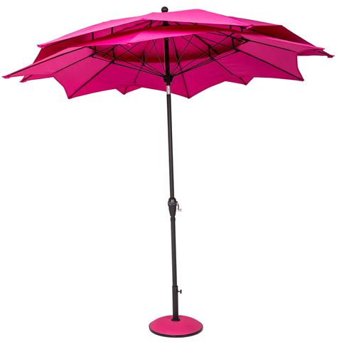 Norfolk Leisure 2.7m Round Lotus Garden Parasol   £71.24