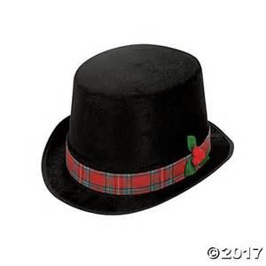 christmas caroler top hat