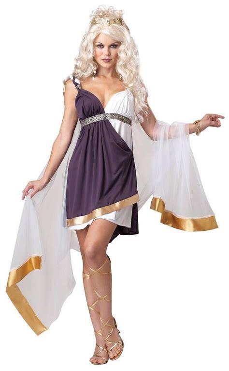 womens deluxe venus goddess costume ancient