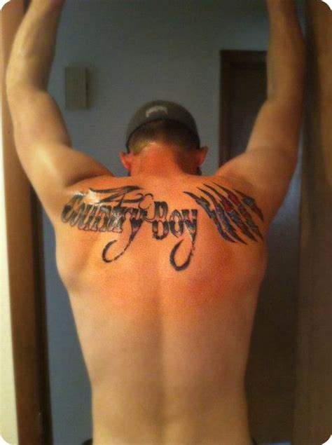 country boy tattoos 10 country tattoos on back