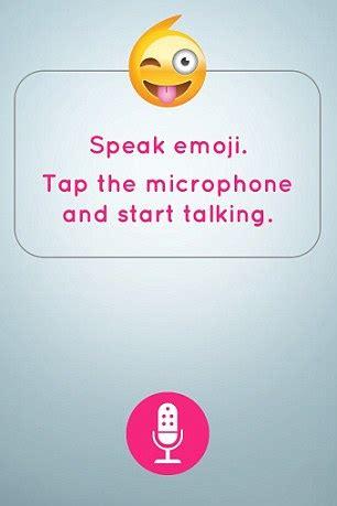 speakemoji translator app turns everything you say into