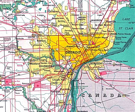 map of usa detroit rebuilding inner cities detroit newspressed