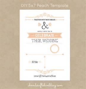 free diy wedding invites templates free rustic wedding invitation templates gangcraft net